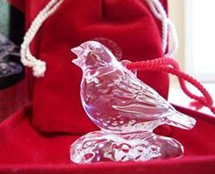 Waterford Collectible Crystal Ornament. $100.00