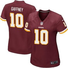 Women s Redskins 10 Jabar Gaffney Nike Game Jersey Red Team Color Youth Football  Jerseys 2f2188d0d