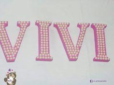 Solte sua imaginação na hora de decorar sua casa, quarto, escritório, festa...afinal essas letras personalizadas com meia pérola são lindas e combina com qualquer ocasião. #letras #letrasmdf #decoração #nomesemmdf #artesanato