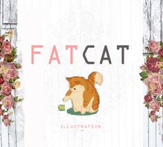 Fun Illustrations and heartwarming gifts by LadyFatCat Fun Illustration, Illustrations, Dog Portraits, Etsy Seller, Cat, Creative, Gifts, Favors, Illustration