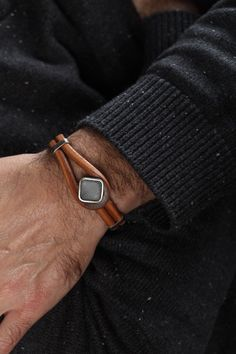 Hey, I found this really awesome Etsy listing at https://www.etsy.com/listing/223151210/mens-bracelet-mens-leather-bracelet-mens