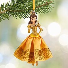 Disney Belle Sketchbook Ornament | Disney StoreBelle Sketchbook Ornament - Frocked in a glittering satin gown, our enchanting Belle ornament will transform any beastly branch into a beauty. Dress your holiday tree with this classic Disney dreamer from <i>Beauty and the Beast</i>, now with Lumiere.