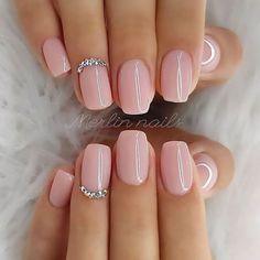 nails one color summer ~ nails one color ; nails one color simple ; nails one color acrylic ; nails one color summer ; nails one color winter ; nails one color short ; nails one color gel ; nails one color matte Natural Acrylic Nails, Best Acrylic Nails, Short Natural Nails, Natural Wedding Nails, Natural Color Nails, Acrylic Summer Nails Almond, Natrual Nails, Simple Wedding Nails, Short Square Acrylic Nails
