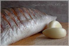 ...konyhán innen - kerten túl...: Fokhagymás sült hal Wok, Food And Drink, Eggs, Fish, Breakfast, Morning Coffee, Pisces, Egg, Egg As Food
