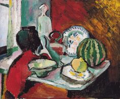 Henri Matisse - Dishes and Melon, 1907 at Barnes Foundation Philadelphia PA