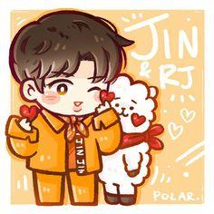 Jin & RJ Fanart | ♡