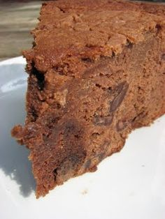 Chocolate Pound Cake   by Trisha Yearwood. This recipe is very close to the one I have and it's wonderful.