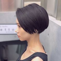 Short Layered Hair Style - 60 Classy Short Haircuts and Hairstyles for Thick Hair - The Trending Hairstyle Very Short Hair, Short Hair With Layers, Short Hair Cuts, Shaved Side Hairstyles, Short Hairstyles For Women, Shot Hair Styles, Long Hair Styles, Shory Hair, Haircut For Thick Hair