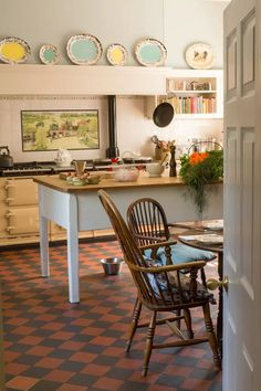 Country Kitchen Designs, French Country Kitchens, English Kitchens, Country Interior, Country Decor, Country Chic, English Interior, English Decor, Classic Interior