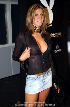 Description: Playboy Night 2004, Kelly van der Veer