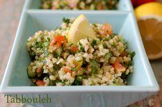 Tabbouleh – salata de bulgur cu patrunjel