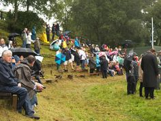 Glenisla Highland Games, some of the audience.