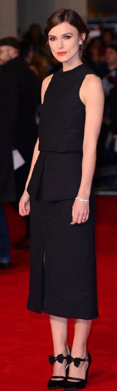 Keira Knightley led POPSUGAR Fashion's best dressed list this week in Proenza Schouler.