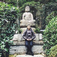 Sono il figlio di Buddha il Buddhino  Chi l'ha capita?  Amo questi posti   #zen #Buddha #ryoanji #kyoto #japan #travel #amazing #green #calm #day #sun #morning #instapic #picoftheday #instagood