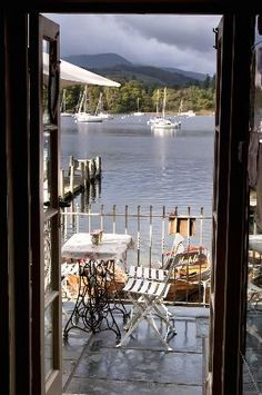 Waterhead Coffee Shop Ambleside