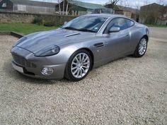 2002 Aston Martin V12 Vanquish £60,000