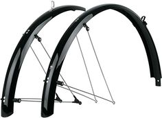SKS Shockblade Dark 28 29 and Plus Front Fender Matte Black