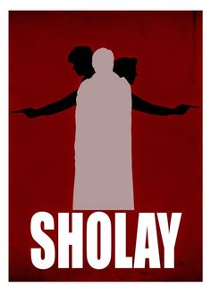 These Sholay posters are sourced from the Internet and are called minimalist art - a poster usually celebrates one aspect of the movie or d. Iconic Movie Posters, Minimal Movie Posters, Minimal Poster, Movie Poster Art, Iconic Movies, Film Posters, Art Posters, Illustrations Posters, Guess The Movie