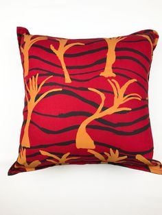 A cushion is a great way to add a touch of luxury and style to your home. All of our cushions are handmade and hand printed here at Publisher. Yurru by Gertie Deeral of Hope Vale Printed on cotton linen. Handmade in Australia Handmade Cushions, Fabric Wallpaper, Cotton Linen, Screen Printing, Fabrics, Textiles, Throw Pillows, Printed, Design