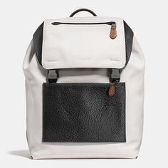 Shop The COACH Manhattan Backpack In Mixed Leathers. Enjoy Complimentary Shipping & Returns! Find Designer Bags, Wallets, Shoes & More At COACH.com!