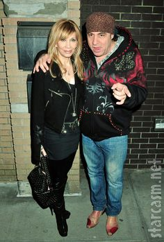 Maureen and Steven Van Zandt, or Gab and Sil Dante. Rock n Roll or Mob.