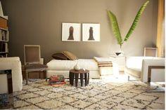 Luxuriate in the Living Room. NYC studio style. Interior Designer: Tom Delevan.