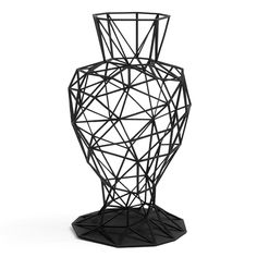 3D-printed bowls and vessels inspired by the Japanese art of origami