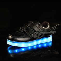Bright Unclejerry Kids Glowing Beach Sandals Usb Rechargeable Shoes Boys And Girls Summer Fashion Sandals Comfortable Outside Shoes Children's Shoes Sandals
