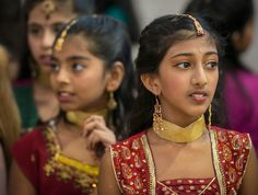 """T.H. Rogers School celebrated Diwali (also known as the Hindu """"Festival of Lights"""")."""