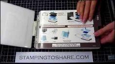 Stampin' Up! Woodgrain Embossing Folder Tip - How to stop the paper cracks when using the woodgrain folder.