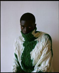 Black Boys, Black Men, Mode Inspiration, Mode Style, Black People, Black Is Beautiful, Editorial Fashion, Knitwear, Fashion Photography