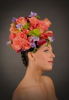 Headdresses by Crystal Oleskevich