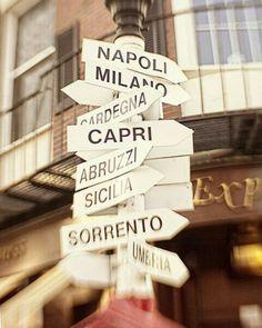 Ben geweest in Sorrento, Capri, Milaan en Napoli. Capri absolute topper!!! (Verschillen erg van mekaar maar oké)