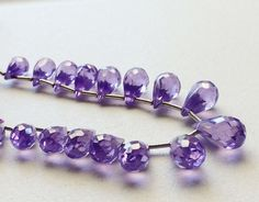 AAA Cubic Zirconia Purple Amethyst Crystal by gemsforjewels