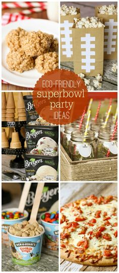 Eco-Friendly Party Ideas for Superbowl Sunday! { lilluna.com }