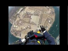 GoPro NAVY SEAL Helmet Cam SKYDIVE Parachute Jump AWESOME Free Fall!