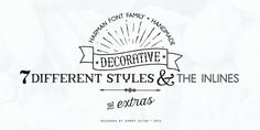 Want to buy this font family for $19.04 Harman - Webfont & Desktop font « MyFonts