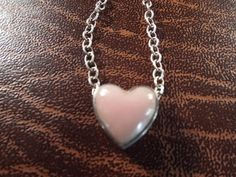 Pink Stone Sterling Silver Necklaces Barse by Burnedbunnybling