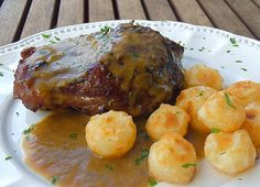 Carrillera de cerdo al horno - Galta de porc al forn