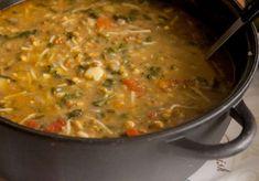 מרק חומוס עדשים ותרד ועוד מרקים של לייזה פאנלים