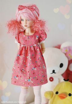 Narae/Unoa/MSD Sweet Pink dress LAST ONE by tanyastyle on Etsy, $25.00