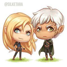 Aelin and Rowan
