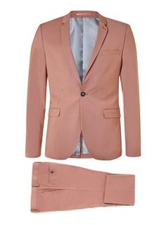 Stucco Pink Ultra Skinny Fit Suit