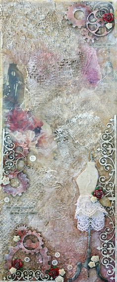 Where Thou Art - Another Mixed Media Canvas