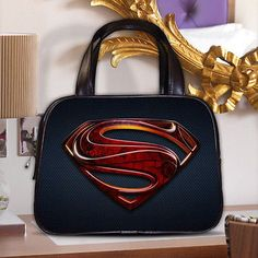 Superman Kal-El Legion of Super-Heroes Women's Classic Purse Leather Handbag