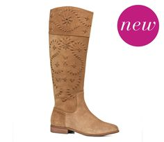 Tara Suede Riding Boot- i have to have these