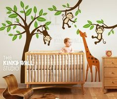 Jungle nursery - I want these decals