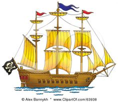 Google Image Result for http://images.clipartof.com/small/63938-Royalty-Free-RF-Clipart-Illustration-Of-A-Large-Pirate-Ship-With-A-Flag-And-Sails.jpg