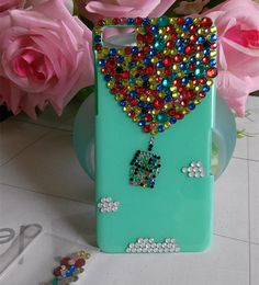 iridescent rhinestone iphone 4s case iphone 5s by iphone6ccase, $22.99