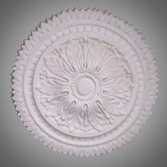 Ceiling Rose 244 - Small Victorian - Ossett Mouldings Ltd Ceiling Rose, Acanthus, Restoration, Roses, Victorian, Pink, Rose, Pink Roses
